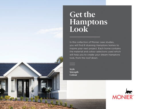 Monier Hamptons Look Brochure